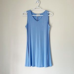 PAPA VANCOUVER SLEEVELESS TUNIC IN BABY BLUE